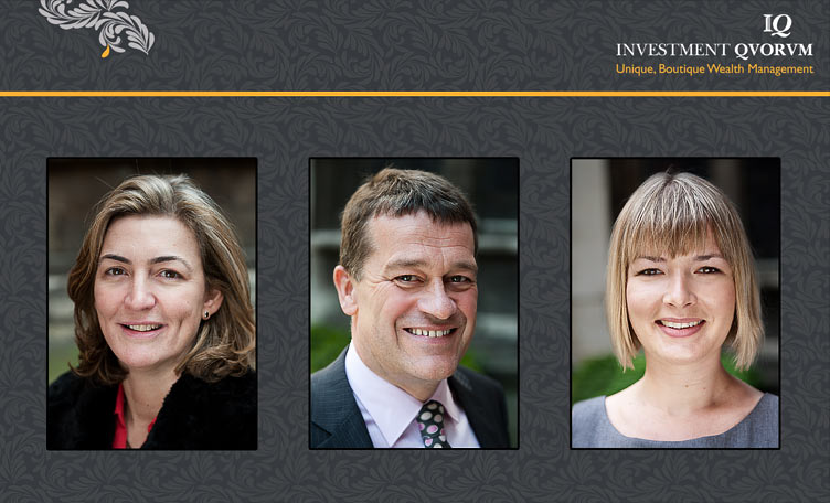 Corporate headshots for Investment Quorum