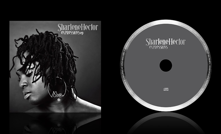 CD cover photography for Sharlene Hector