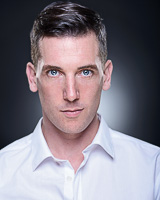 Actors headshot - Chris Robinson by Alex Winn | London headshot photographer