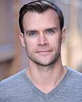 Actors headshot - David Alexander by Alex Winn | London headshot photographer