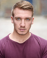 Actors headshot - Gareth Isaacsson by Alex Winn | London headshot photographer