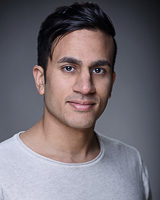 Actors headshot - Giten Patel by Alex Winn | London headshot photographer