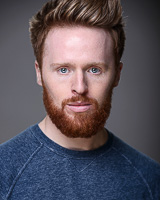 Actors headshot - Iain Batchelor by Alex Winn | London headshot photographer