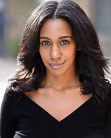 Actors headshot - Kamara Bacchus by Alex Winn | London headshot photographer