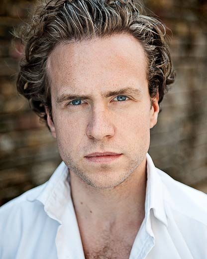 Rafe Spall - actors headshot by Alex Winn